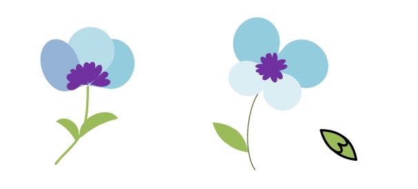 Excelで描く花